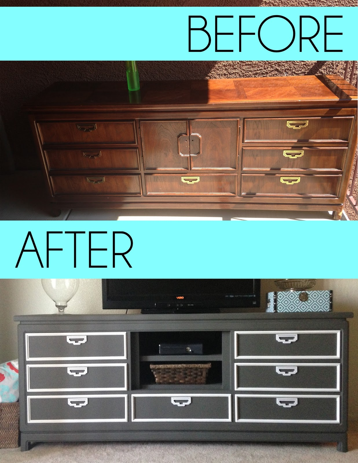 ottoman pin ideas center entertainment into turn an furniture pinterest turned diy a dresser