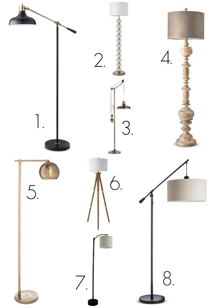 Gooseneck Floor Lamp Target – Target Chandelier Lamp