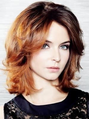 modernos peinados cabello medio