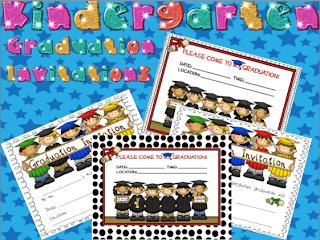 Kindergarten Lifestyle Kindergarten Graduation Invitations