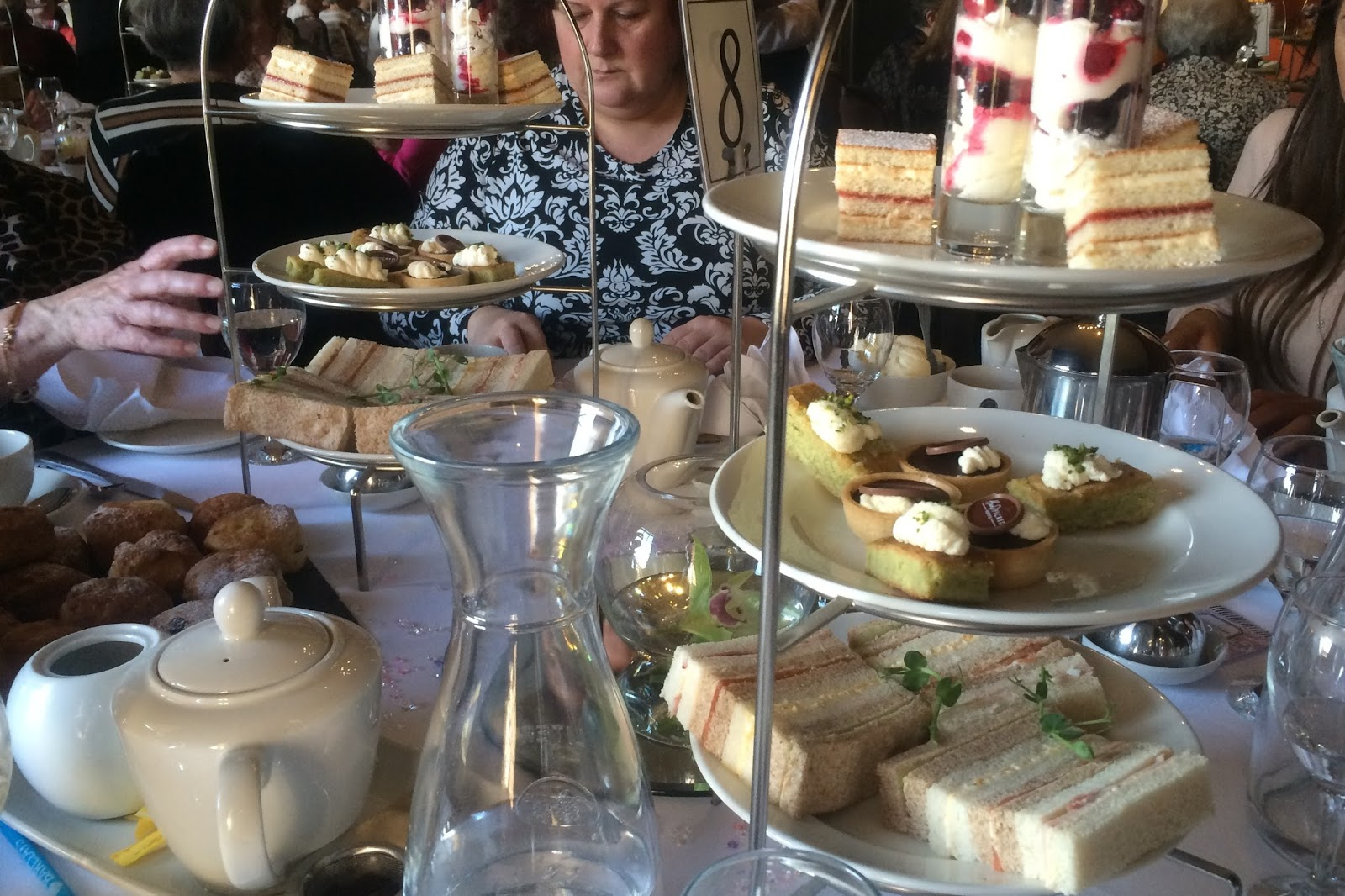 Ladies Afternoon Tea at Crathorne Hall with Butterwick Hospice Care - Review