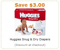 Amazon Huggies Coupon