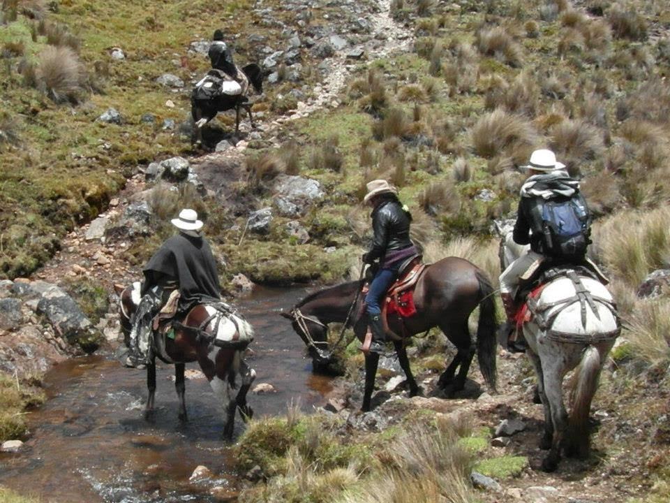 CABALGATA POR  EL CAMINO DEL INCA