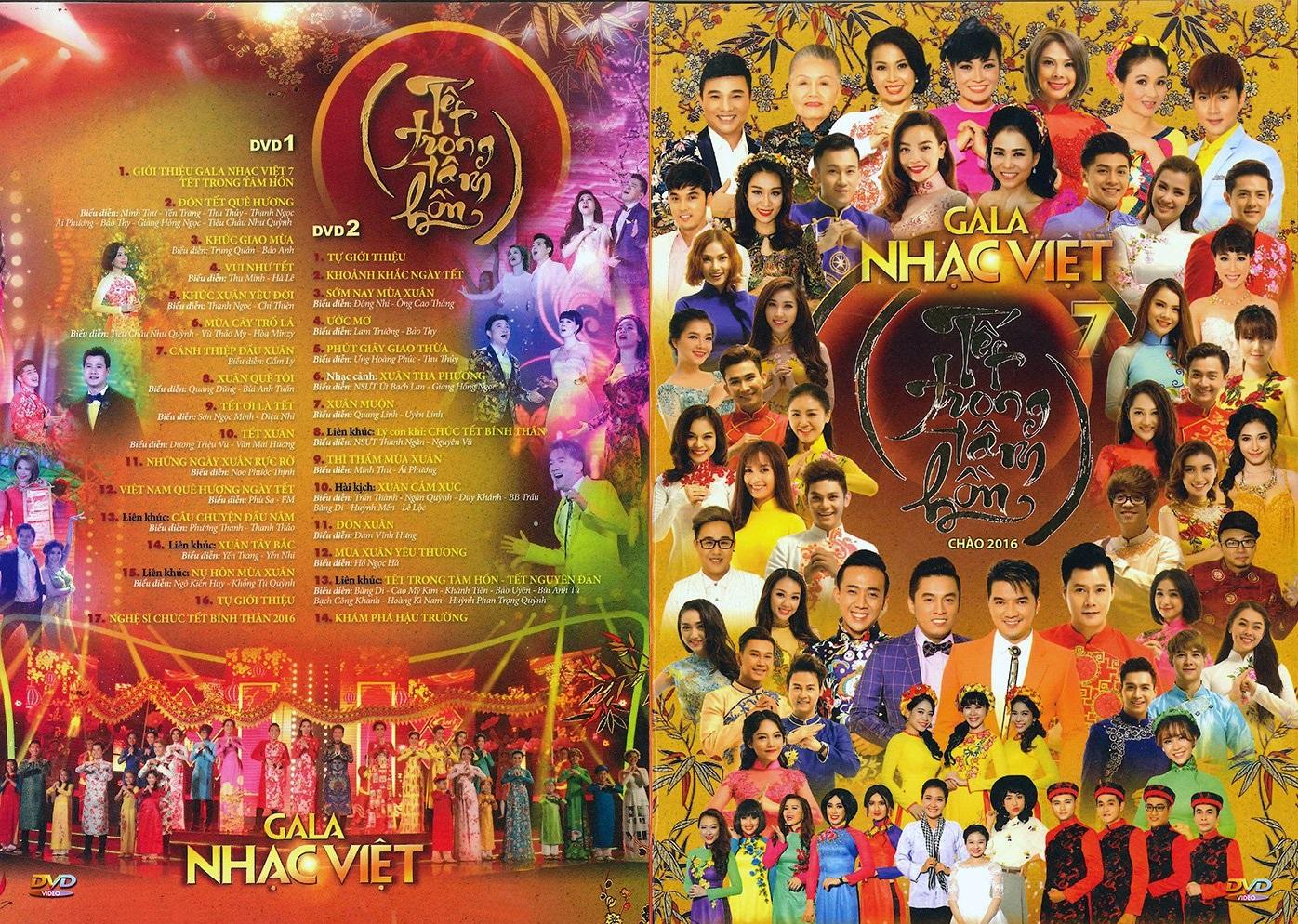 Gala Nhạc Việt 7 - Tết Trong Tâm Hồn 2016