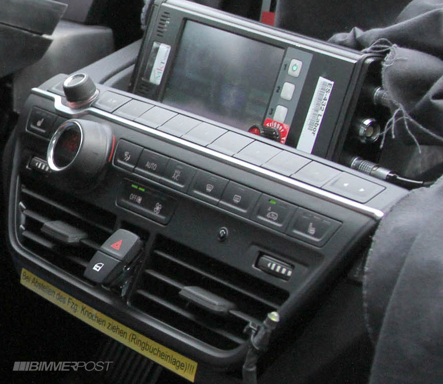 The Electric BMW i3: First i3 Interior Spy Shot Captured by Bimmerpost