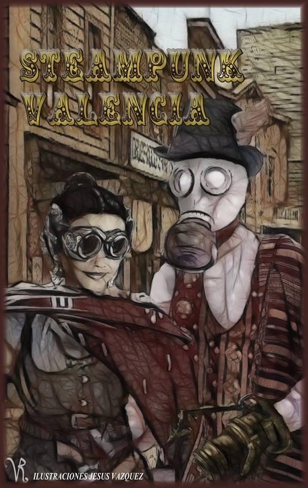 """Libro """"Steampunk valencia"""""""