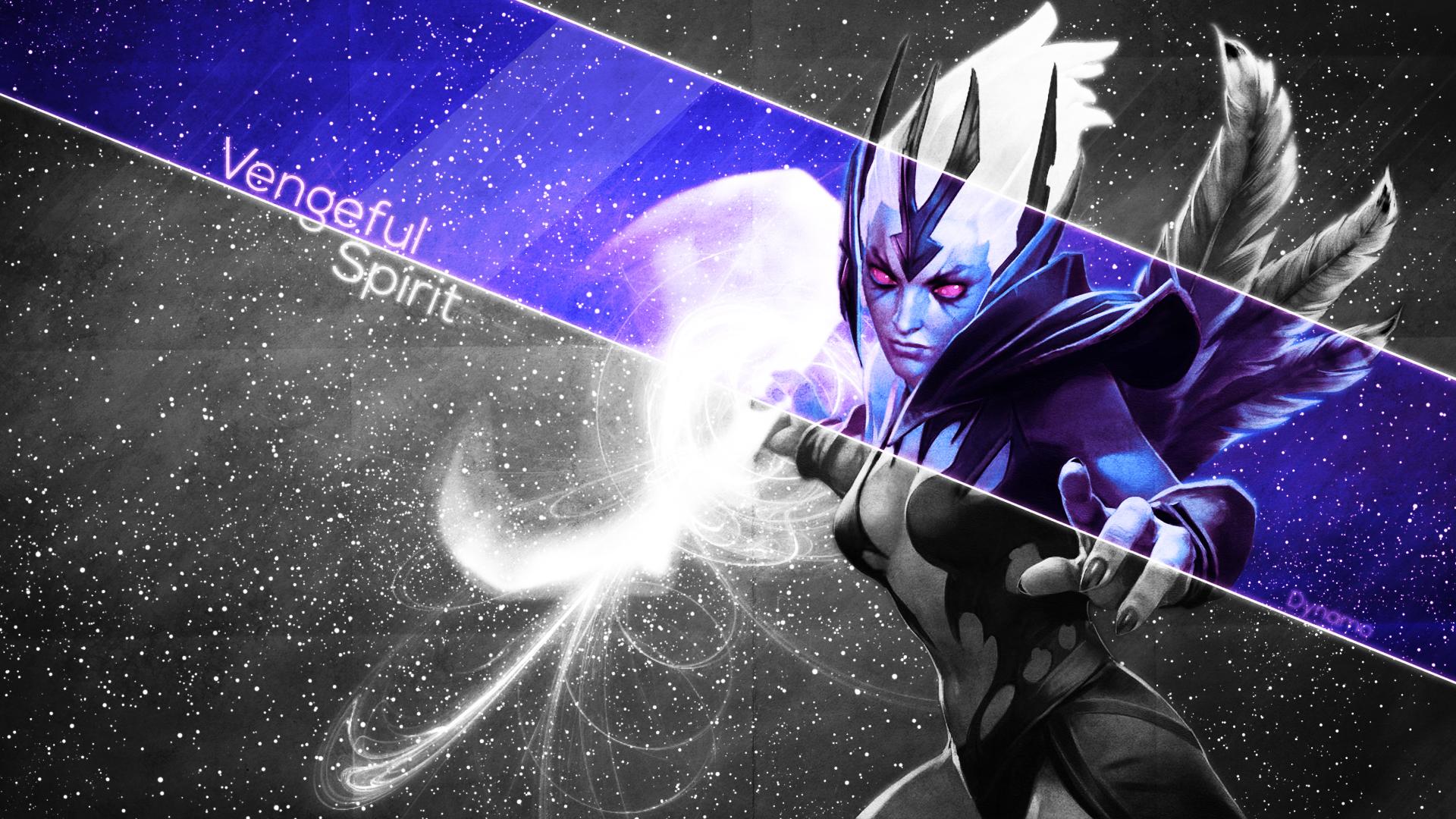 5753) Dota 2 Vengeful Spirit Iphone Wallpaper - WalOps.com