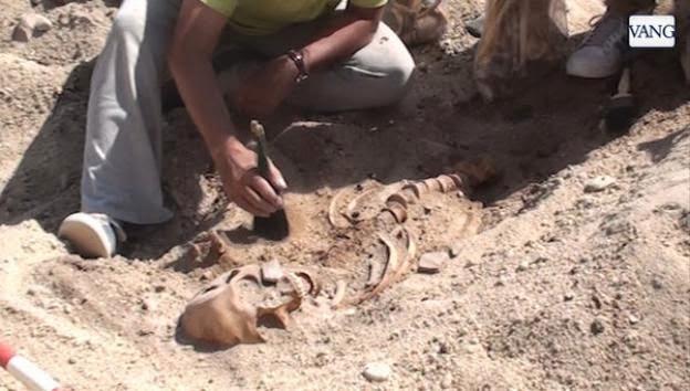 O achado aconteceu no Alto Egito, em Oxirrinco a 160 km do Cairo