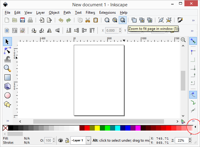 how to change colour of boxes inkscape