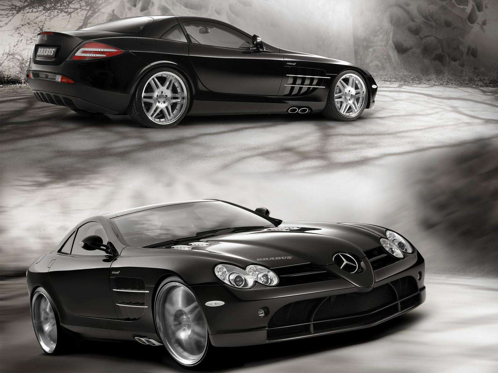 World Of Cars: Mercedes benz slr