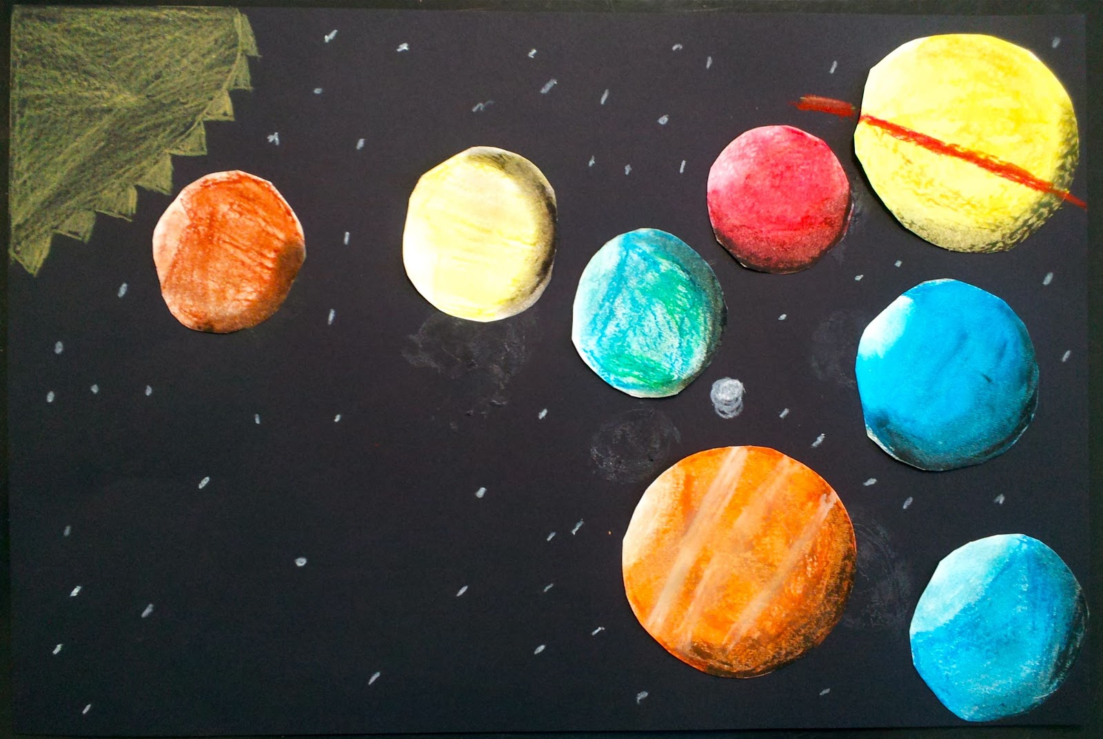 solar system drawing - photo #30