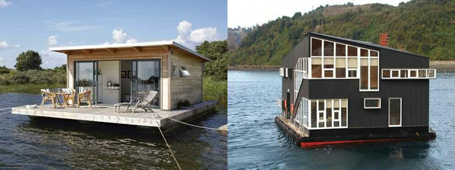 Modern Houseboats