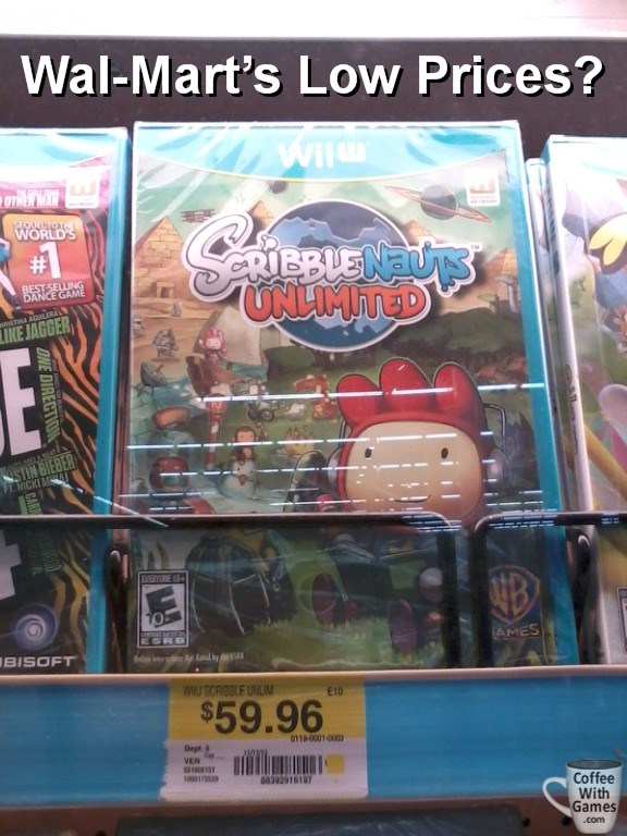 Walmart Wii U Games : Coffee with games watch the wii u game prices
