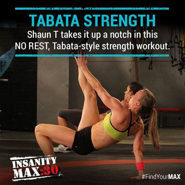 Tabata strength insanity max 30 review