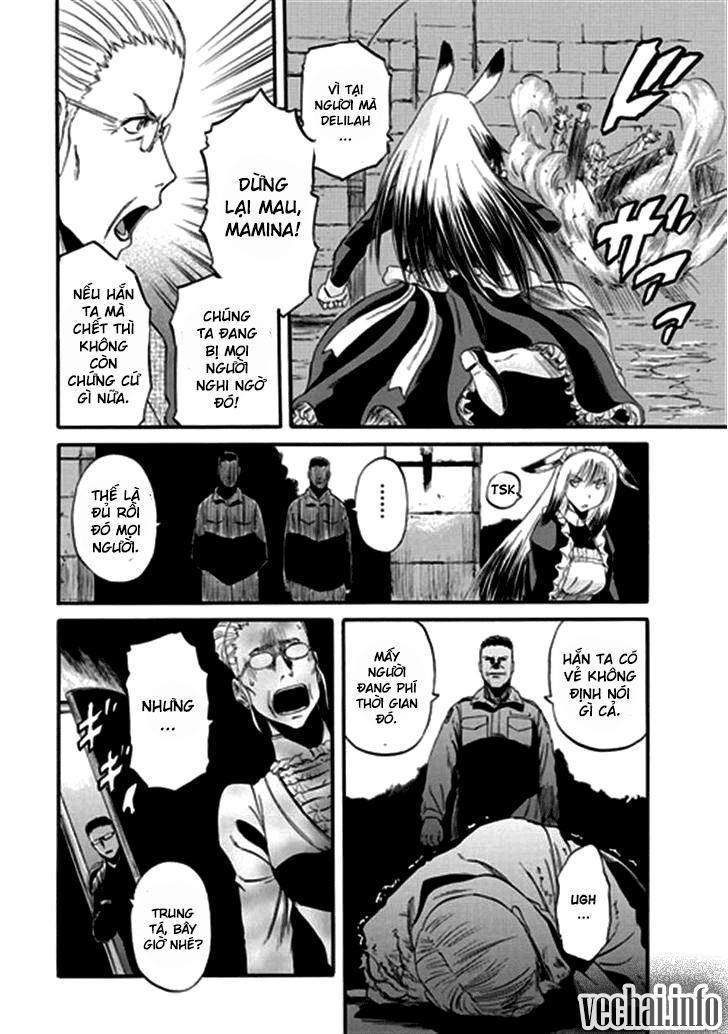 Gate – Jietai Kare no Chi nite, Kaku Tatakeri chap 41 Trang 13 - Mangak.info