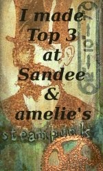 Top 3 - 04/2015 bei SanDee & amelie´s Steampunk challenges