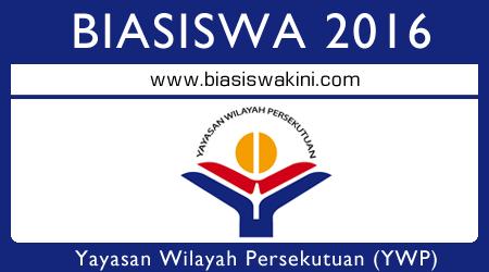Biasiswa Yayasan Wilayah Persekutuan (YWP) 2016