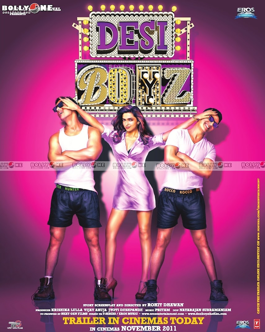 Deepika Padukone with Desi Boyz