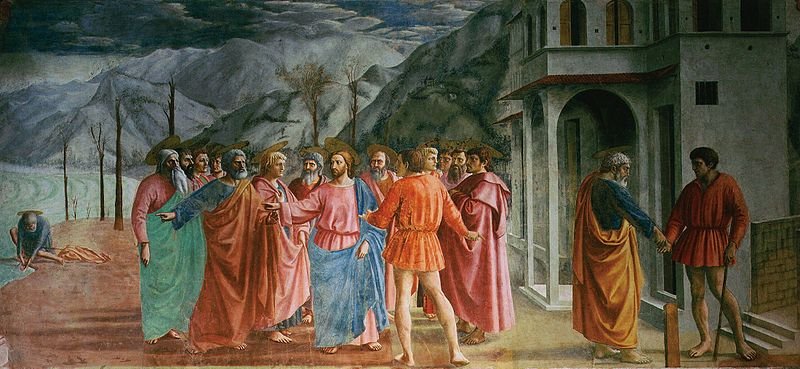 The Tribute Money, Masaccio, 1425