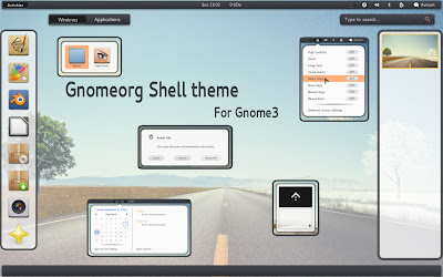 gnomeorg GNOME Shell theme