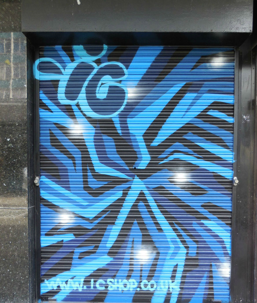 IC shop croydon street art