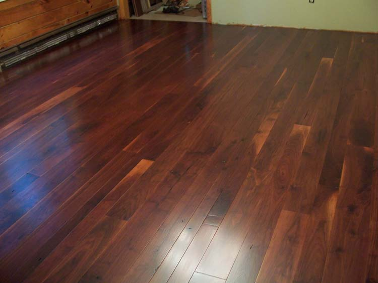How to be a retired housewife hardwood floors part 1 for Floating hardwood floor