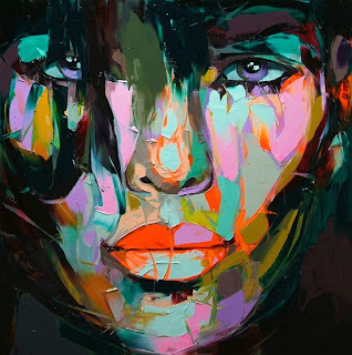 Colorful Pictures Art Girl