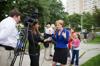Cuomo Nightmare Zephyr Teachout Talks to Media