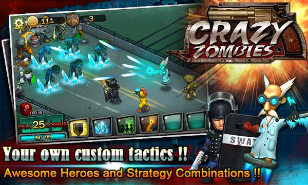 Crazy Zombies  Gameplay