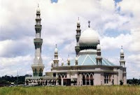 Mosque in Seria  Brunei
