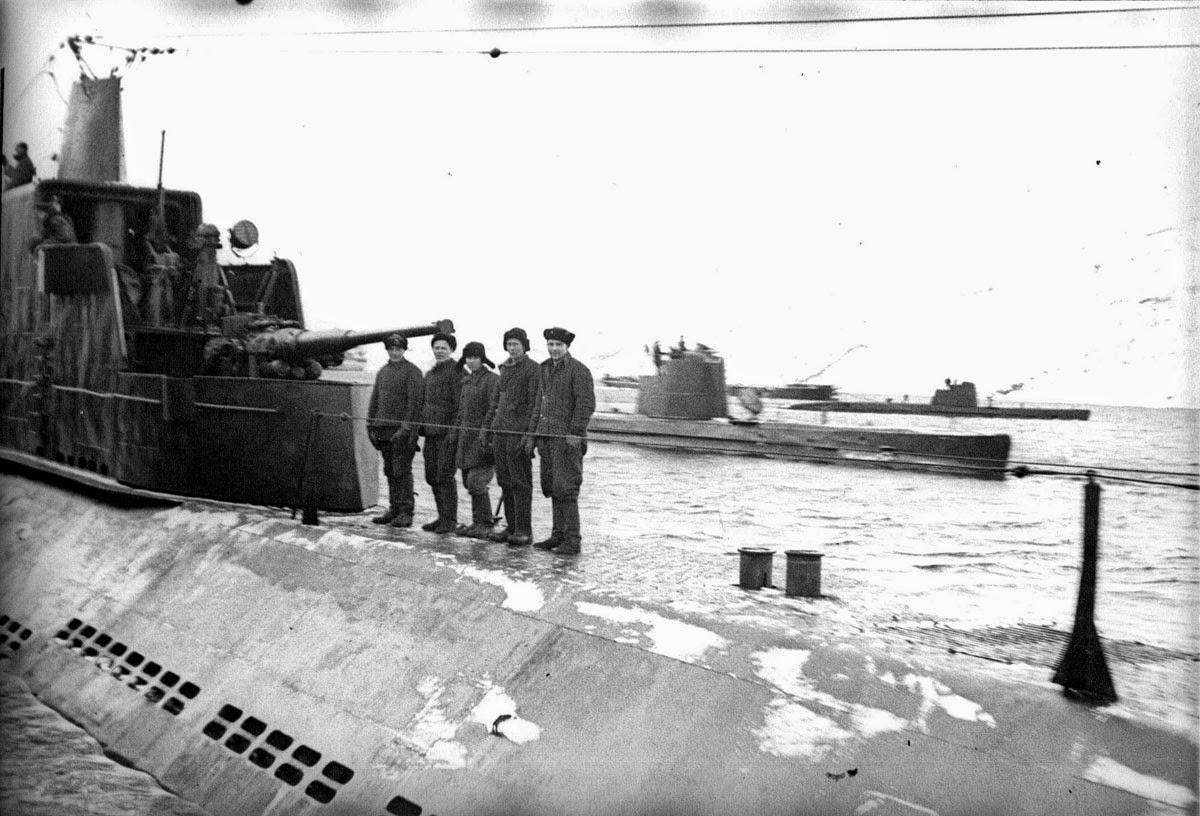 советские подводные лодки 1941-1945