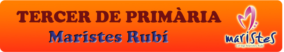 TERCER DE PRIMÀRIA - MARISTES RUBI
