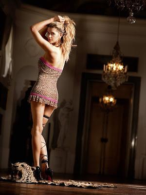 Baci Leopard Print Sexy Dress