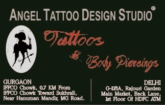 Female Tattooist, Female Tattoo Artist in Gurgaon-Delhi-India