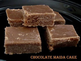 Chocolate Maida Cake