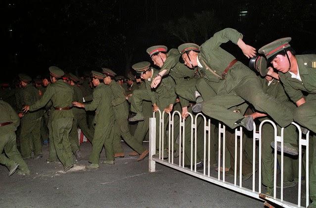 Represión de las protestas Plaza de Tiananmén 1989