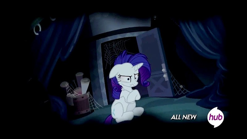 Rarity loses it in the dream sequence