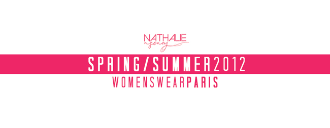 NATHALIE MODELS - SPRING/SUMMER 2012 WOMENSWEAR PARIS