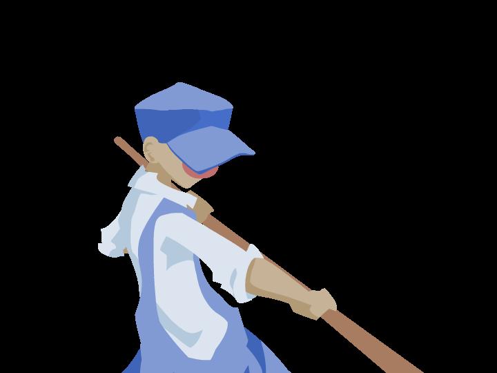 Main character Capcom double high jump protagonist