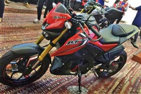 penampakan Yamaha MT-15