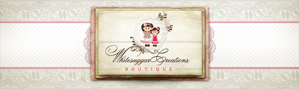 Whitesuggar Creations Boutique's Blog
