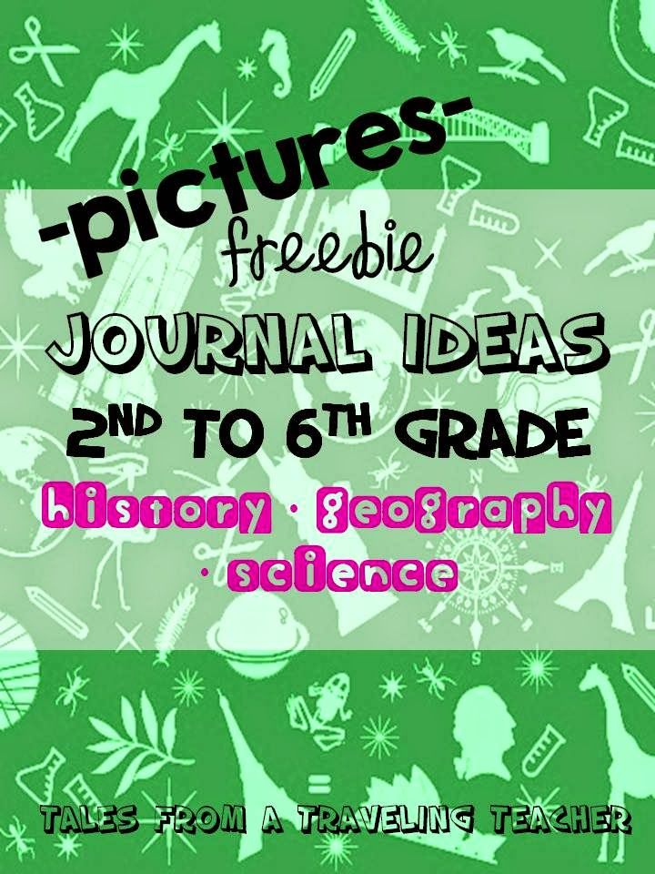http://www.teacherspayteachers.com/Product/Journal-Ideas-for-Uppergrade-Topics-1341754