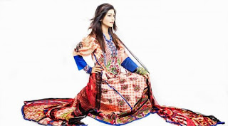 Latest Eid summer lawn dresses 2013