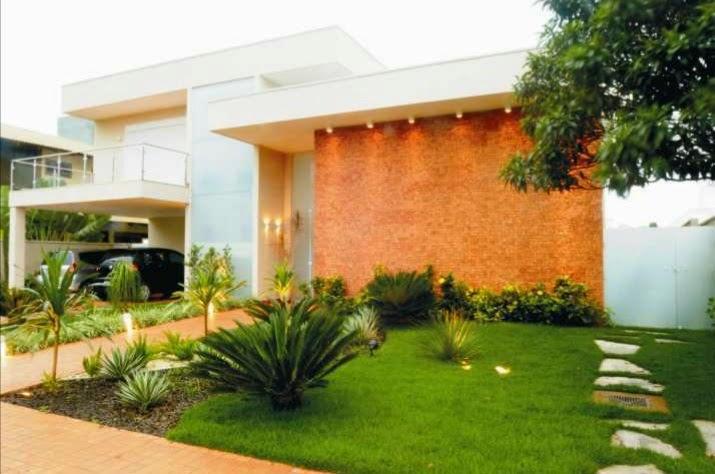 Fachada de casas modernas