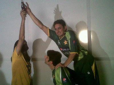 Pakistani Cricket Team Players Making Of ADD Pepsi