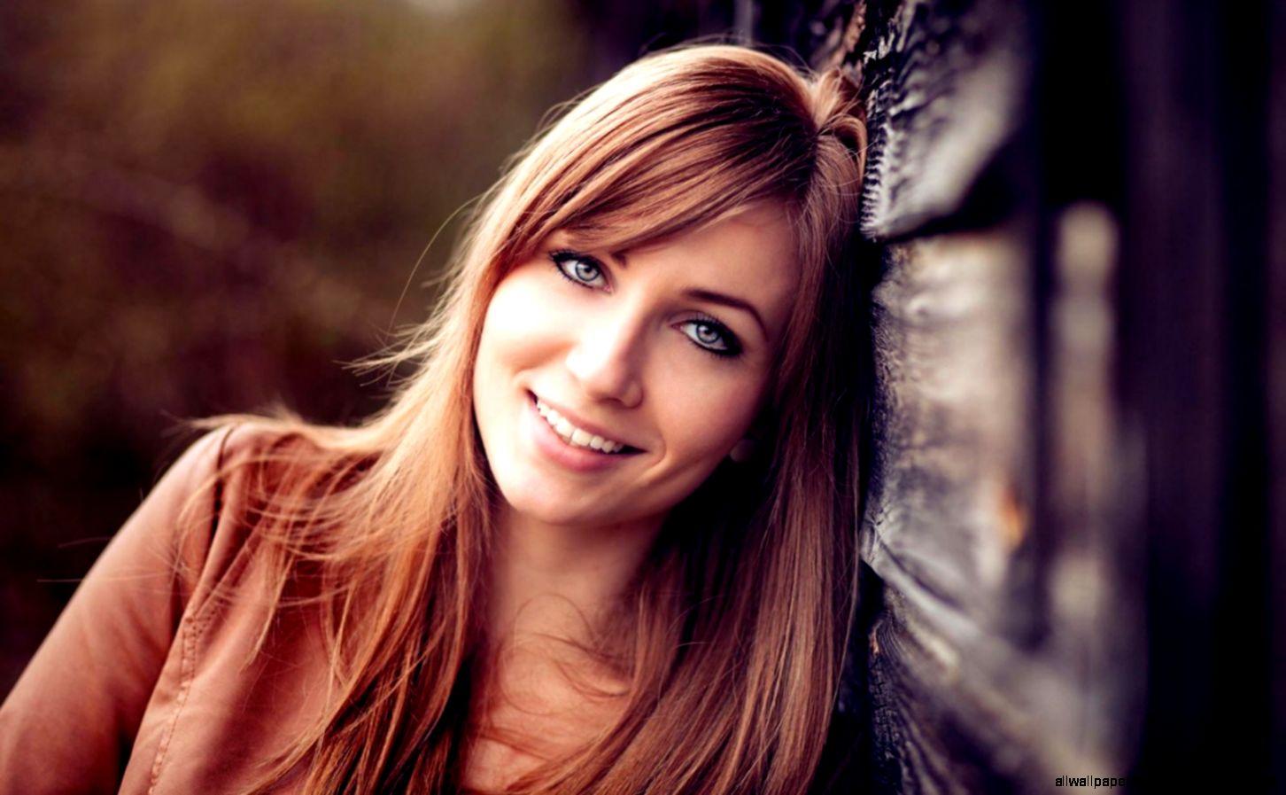 Girl Smile Bokeh Hd Wallpaper  Free High Definition Wallpapers