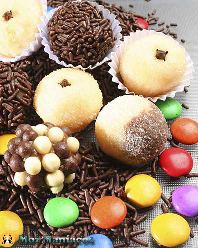 Abusar de doces para emagrecer