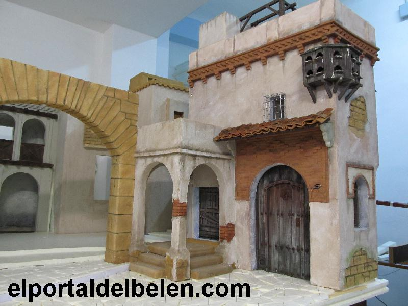 El portal del bel n d a 16 pintura de la casa mud jar for Portal de inmobiliarias