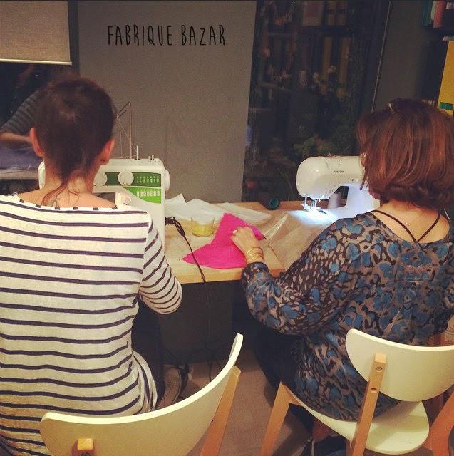 cours de couture toulouse blog créatif apéro couture