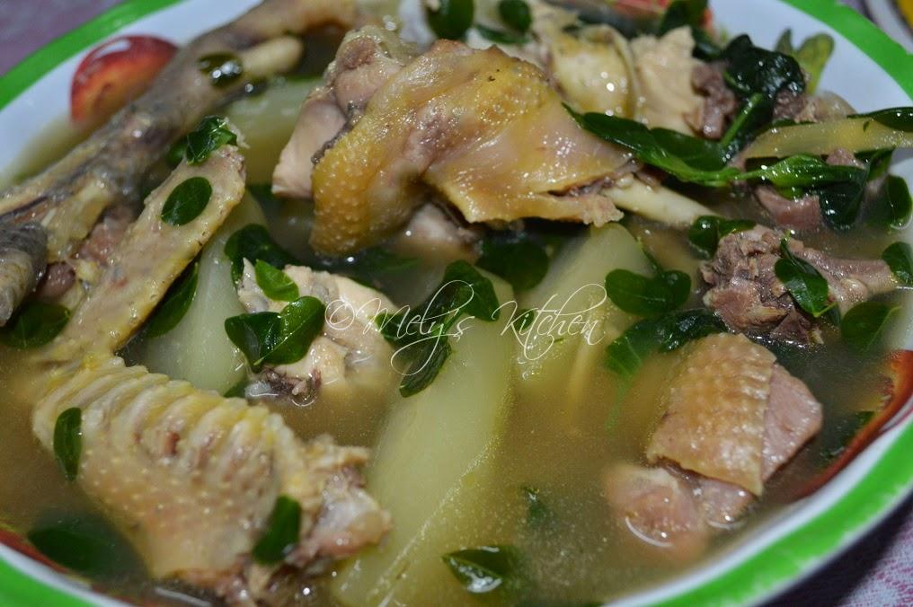 Native Chicken Tinola Recipweee